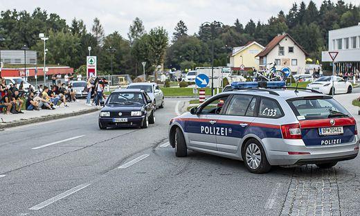 Großeinsatz für die Polizei