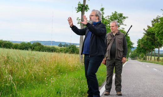 """Thomas Roth drehte im Saarland eine Folge der ZDF-Samstagskrimireihe """"In Wahrheit""""."""