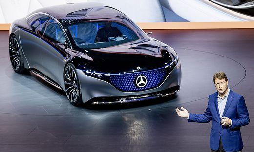 Daimler-Vorstandschef Ola Källenius