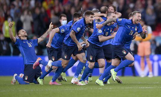 Italiens Fußballer stehen im EM-Finale