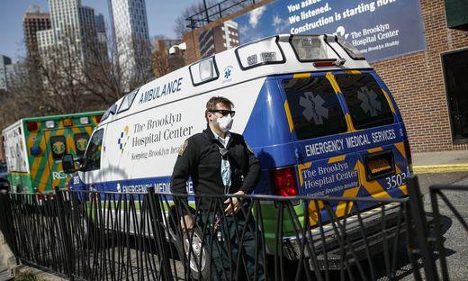 Die US-Metropole New York ist besonders von der Corona-Pandemie betroffen