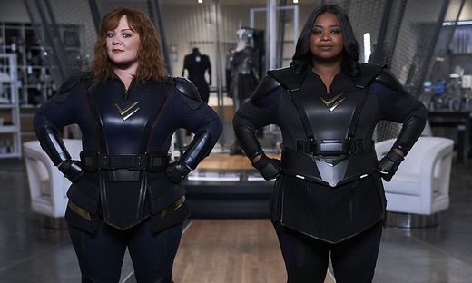 "Melissa McCarthy und Octavia Spencer in ""Thunder Force"""