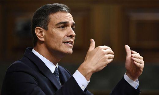 Pedro Sánchez hofft heute auf eine Mehrheit im spanischen Parlament