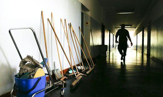 """Derzeit gibt es im Flüchtlingsquartier in Fehring eine """"Null-Belegung"""""""