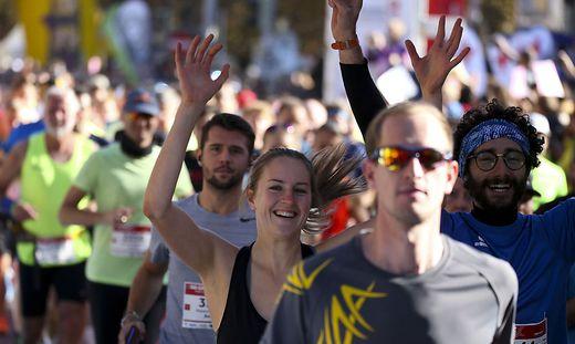Beim Graz Marathon 2019 waren alle Teilnehmer Gewinner