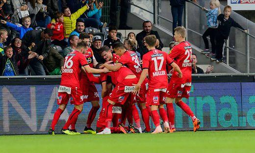 FUSSBALL TIPICO BUNDESLIGA / GRUNDDURCHGANG: CASHPOINT SCR ALTACH - FK AUSTRIA WIEN