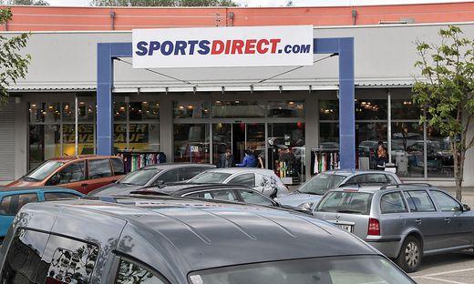 Eine Filiale des Sporthändlers Sports Direct