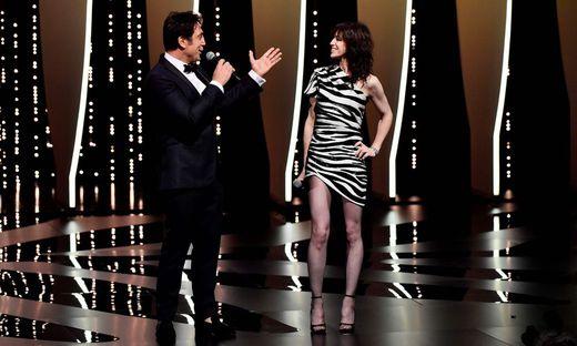 Javier Bardem und seine französische Kollegin Charlotte Gainsbourg