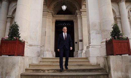 Politisches Comeback: Dominic Raab trat als Mays Brexitminister zurück und wird jetzt Außenminister