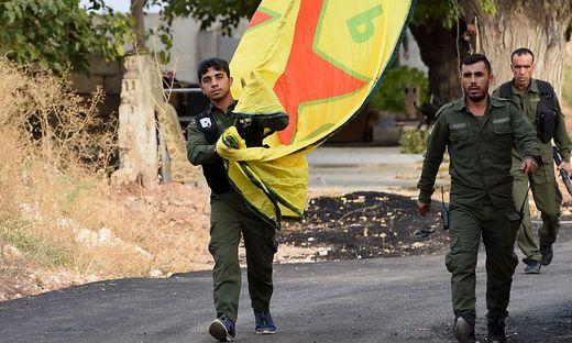 Abzug der YPG