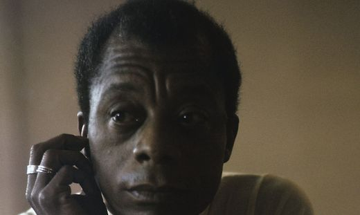 Der US-Autor James Baldwin