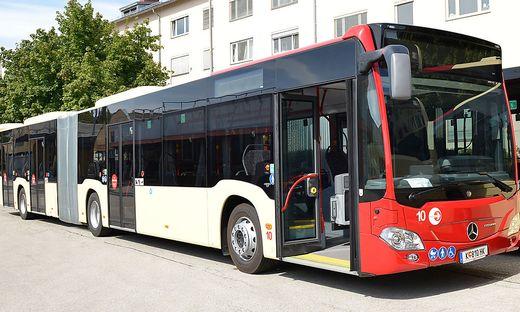 Jeder der 21 neu angeschafften Gelenksbusse verfügt über zehn USB-Anschlüsse