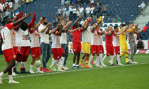 FUSSBALL TIPICO BUNDESLIGA / GRUNDDURCHGANG: RED BULL SALZBURG - LASK LINZ