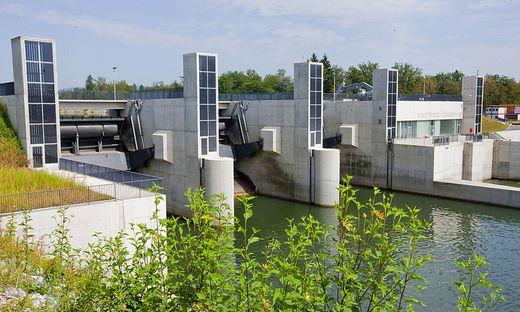 Das geplante Grazer Kraftwerk ist baulich mit dem bereits existierenden in Gössendorf zu vergleichen (Bild)