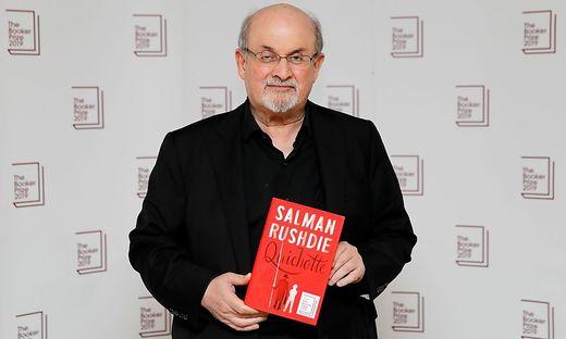 """Salman Rushdie mit """"Quichotte"""""""