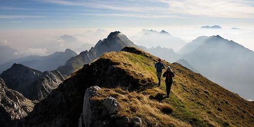 Grenzenloses Wandern am Panoramaweg Südalpen