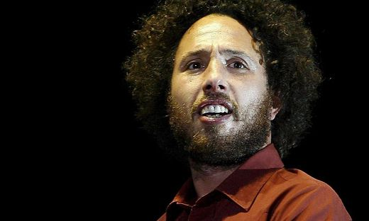 Zack de la Rocha von Rage Against the Machine
