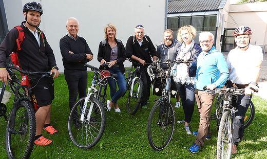 Im Rahmen Mobilitätswoche wurden in Leibnitz mehrere Befahrungen gemacht und die Radwege geprüft