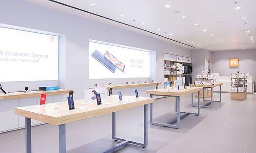 Erster Xiaomi Store Oesterreichs in der SCS