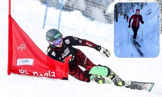Jemima Juritz neue Leidenschaft ist das Skitourengehen