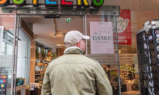 Offenes Geschäft in Graz