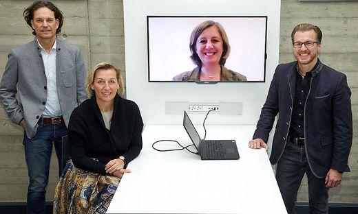Hans Lercher, Kristina Edlinger-Ploder, Barbara Eibinger-Miedl, Oliver Wieser