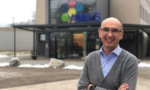 Ames-Gründer Walter Starzacher