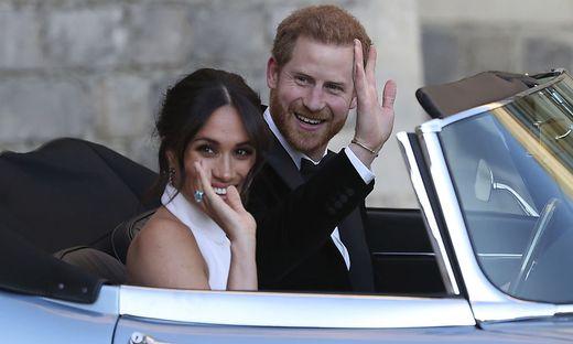 Sind dann mal weg: Harry und Meghan