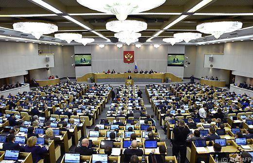 Gesetz gegen ausländische Medien verabschiedet
