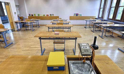 Die Klasse wurde geschlossen