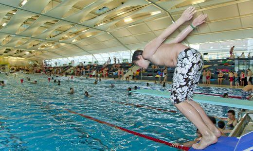 Das Auster Sportbad sperrt am Montag auf