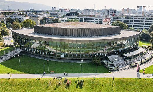 Das Brucknerhaus in Linz. Das internationale Brucknerfest soll heuer programmgemäß über die Bühne(n) gehen