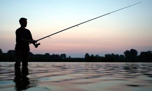 Angler in der D�mmerung