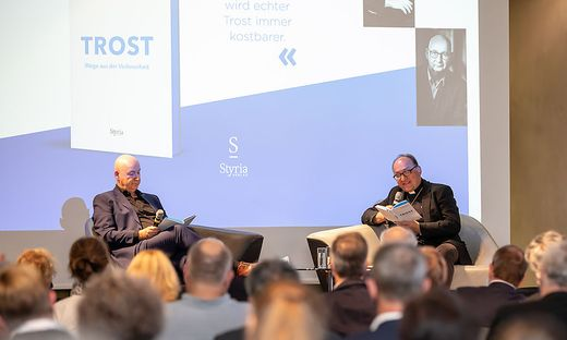 Michael Lehofer und Hermann Glettler