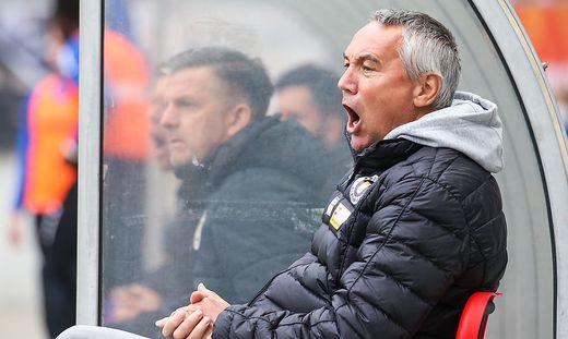 SOCCER - 2. Liga, A.Klagenfurt vs GAK