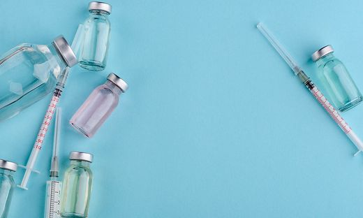 Vials of different vaccine