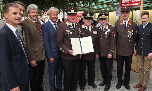 Zahlreiche Ehrengäste erwiesen Großhartmannsdorf die Ehre