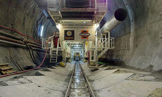 Im Zuge des Baus des Semmering-Basistunnels kam es zur Vertragsauflösung