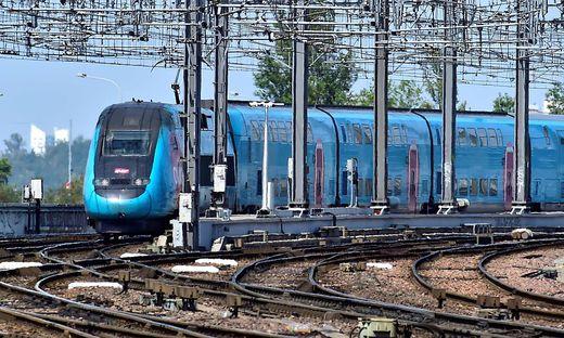 Züge in Frankreich fahren langsamer