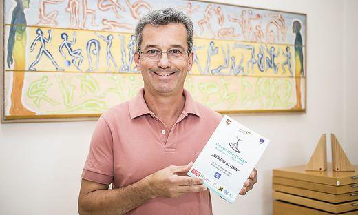 Robert Schmidhofer hat die Gesundheitstage vor 25 Jahren in die Region gebracht