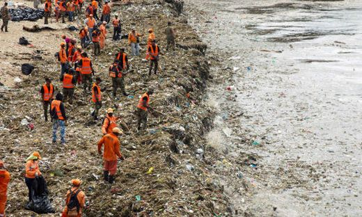 Plastikmüll Dominikanische Republik
