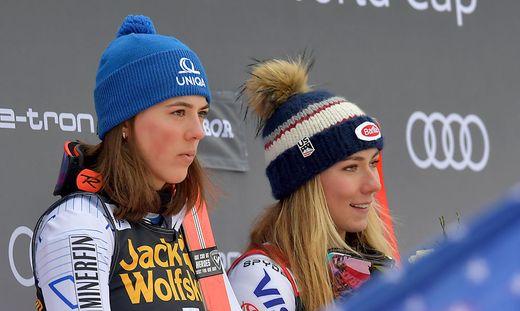 Petra Vlhova, Mikaela Shiffrin, Zauchensee
