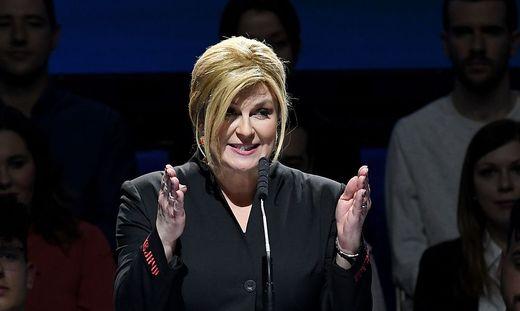 Ex-Präsidentin Kolinda Grabar-Kitarovic
