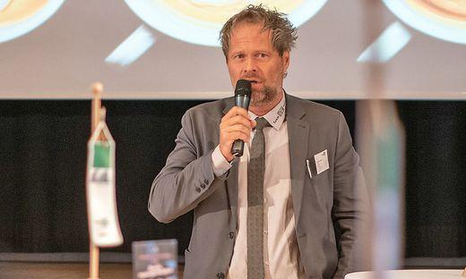 Team Styria-Geschäftsführer Bernhard Lambauer begrüßte die Gäste