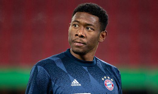 Spieler Alaba verk�ndet Abschied vom FC Bayern