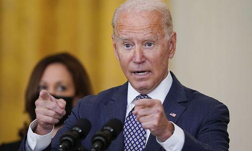 US-Präsident Joe Biden sieht die Gefahr