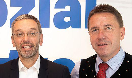 Erwin Angerer hält Herbert Kickl für geeignet, Parteichef zu werden.