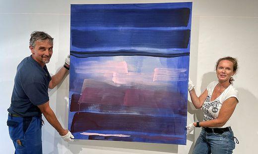 Ute Aschbacher stellt ab heute ihre über die Jahrzehnte hinweg entstandenden Kunstwerke in der Galerie Freihausgasse aus