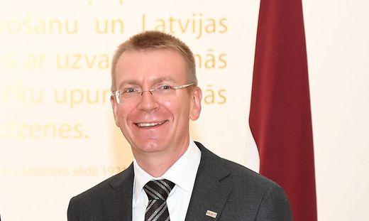 Außenminister Edgars Rinkevics
