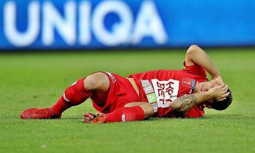 Der GAK verlor gegen Innsbruck